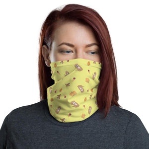 Dog and Waffles - Neck Gaiter - Fair Dinkum Fashion