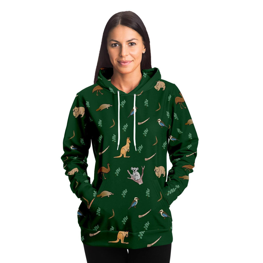 Aussie Animal Adults Hoodie - Fair Dinkum Fashion