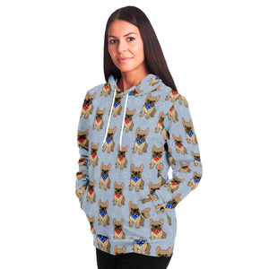 French Bulldog Adult Hoodie - Fair Dinkum Fashion