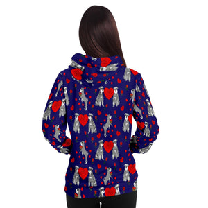 Love Schnauzer Adults Hoodie - Fair Dinkum Fashion