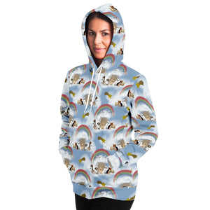 Rainbow Bridge Adults Hoodie - Fair Dinkum Fashion