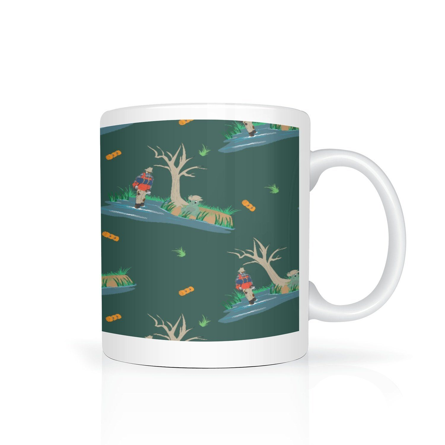 Green Billabong Mug - Fair Dinkum Fashion