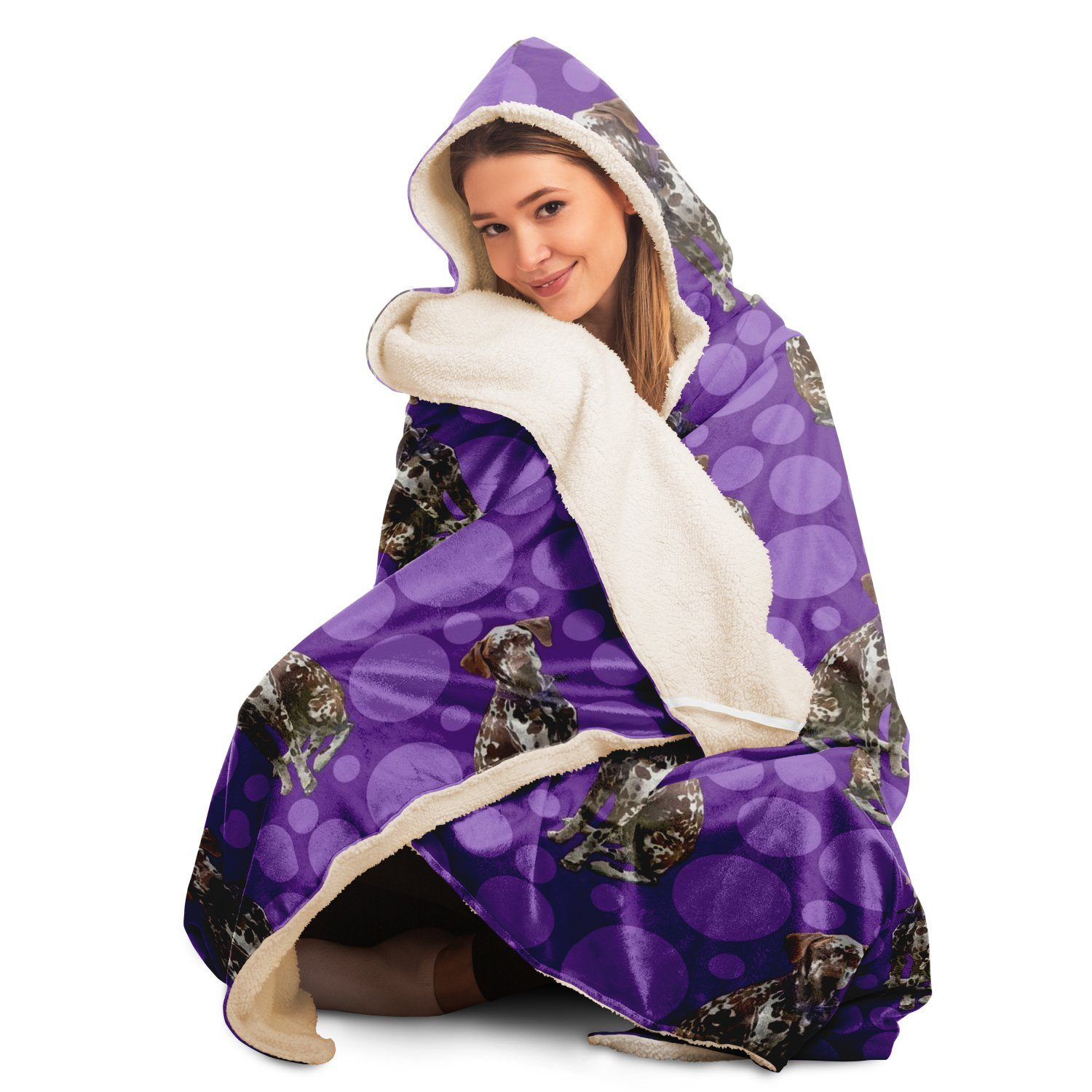 Dalmation - Hooded Blanket - Fair Dinkum Fashion