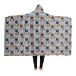 French Bulldog - Hooded Blanket - Fair Dinkum Fashion