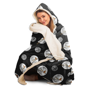 Halloween Cat and Dog - Hooded Blanket - Fair Dinkum Fashion