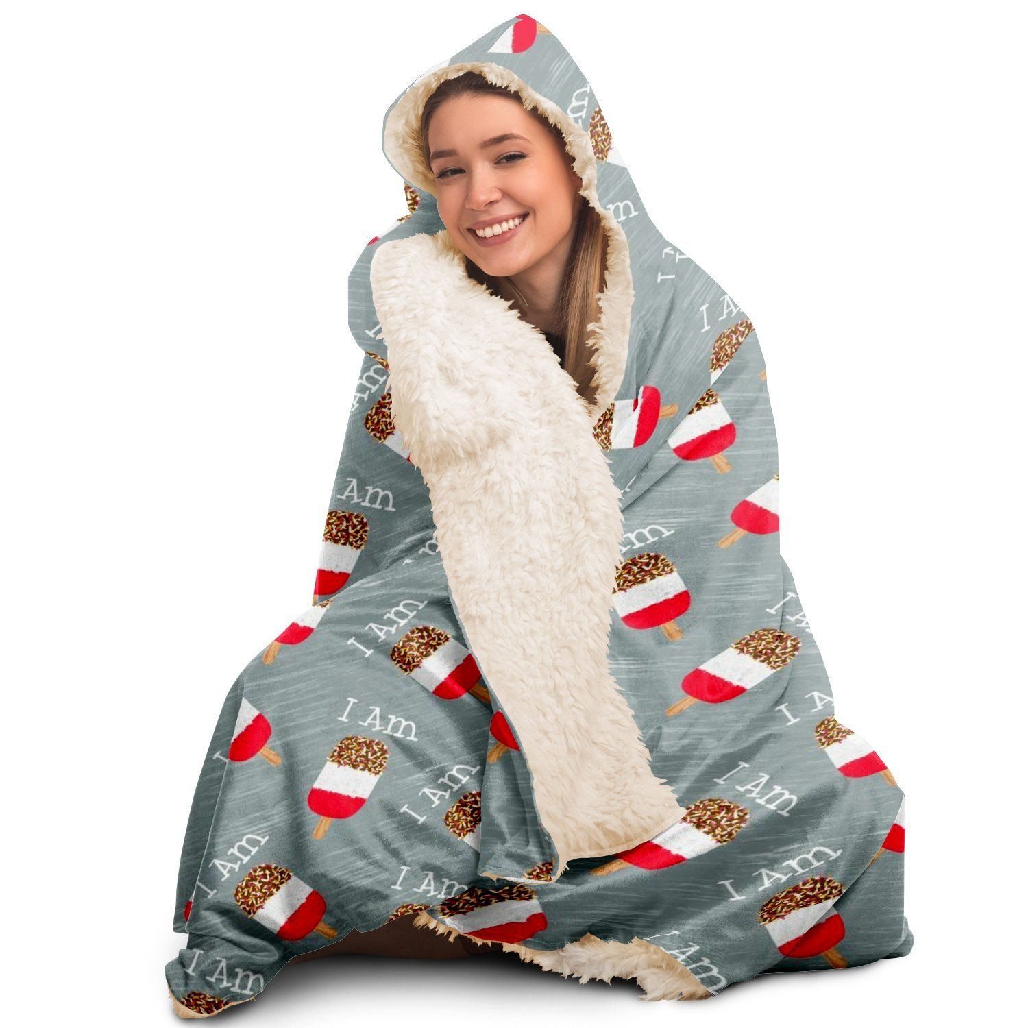 I am Fab - Hooded Blanket - Fair Dinkum Fashion