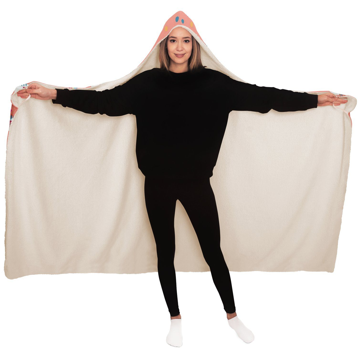 Let's Party - Hooded Blanket - Fair Dinkum Fashion