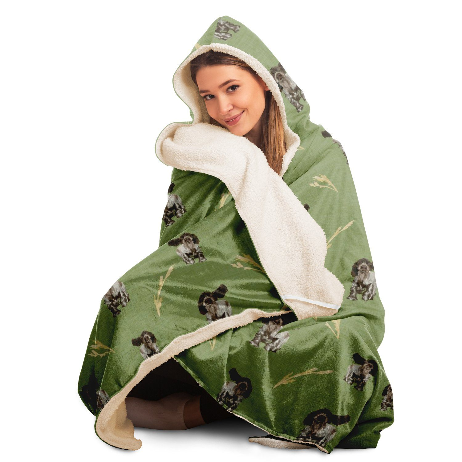 Spaniels - Hooded Blanket - Fair Dinkum Fashion