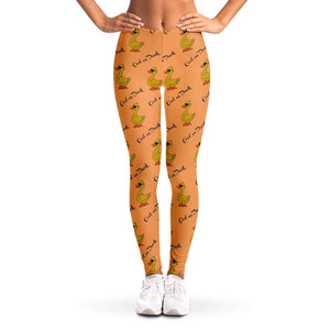 Cool As Duck Ladies Leggings - Fair Dinkum Fashion