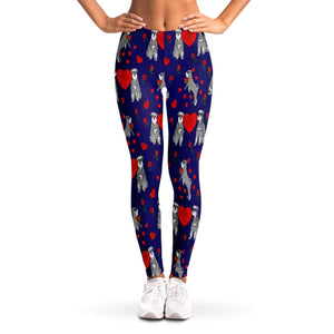 Love Schnauzer Ladies Leggings - Fair Dinkum Fashion