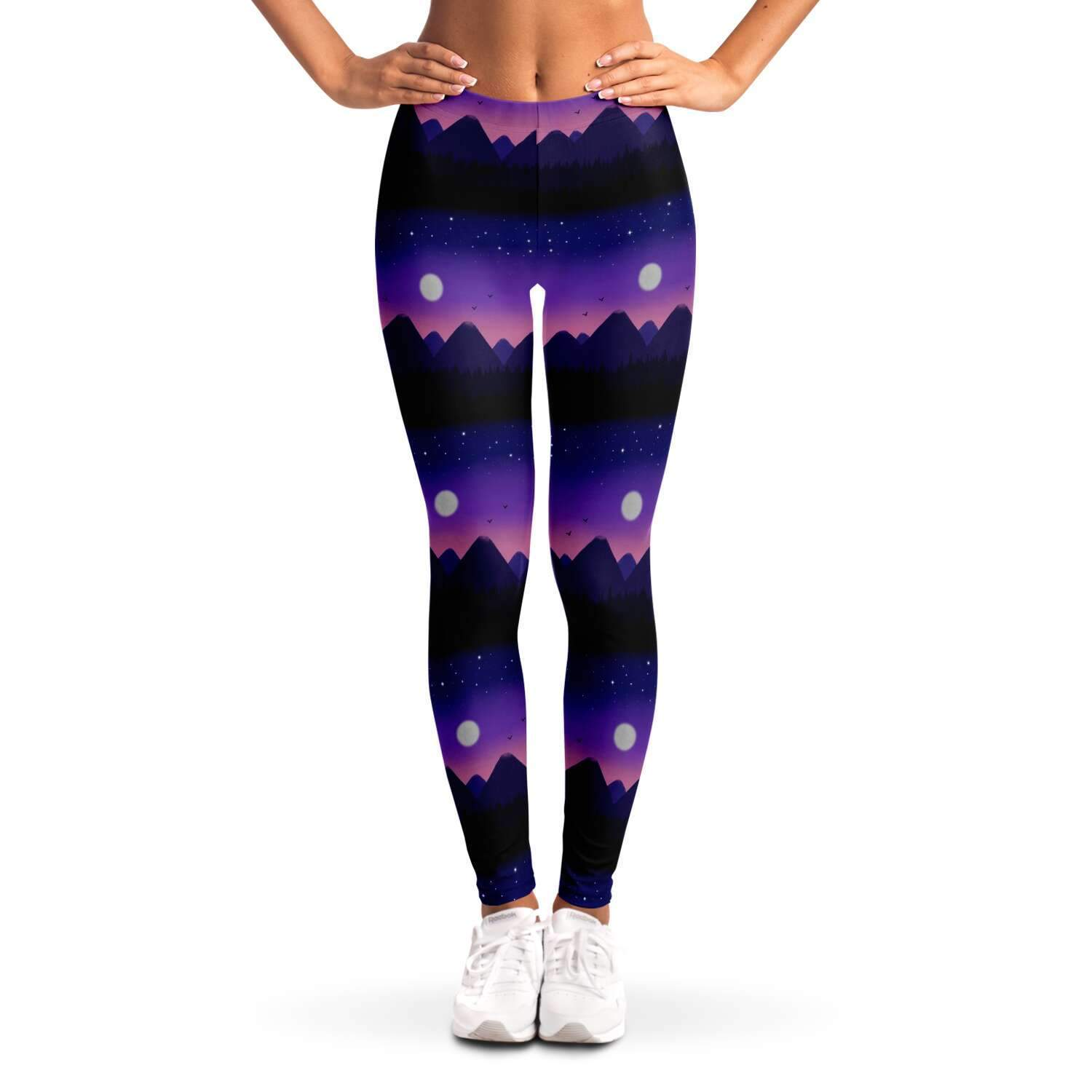 Purple Mountain Ladies Leggings - Fair Dinkum Fashion