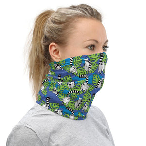 Neck Gaiter - Lemurs - Fair Dinkum Fashion