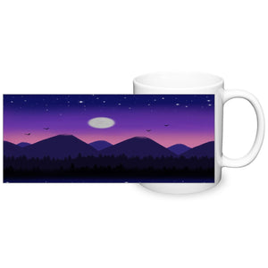 Purple Mountain Mug - Fair Dinkum Fashion