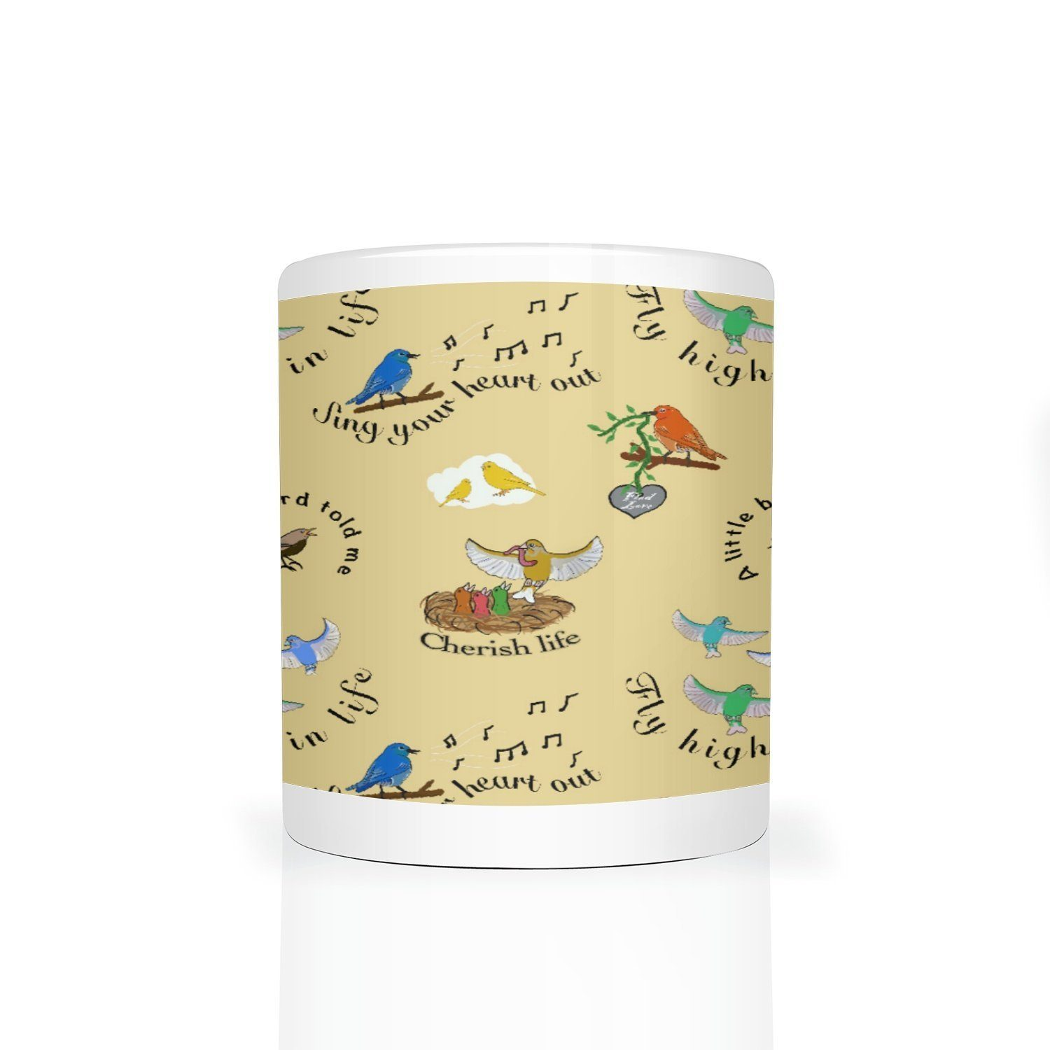 Song Bird Mug - Fair Dinkum Fashion