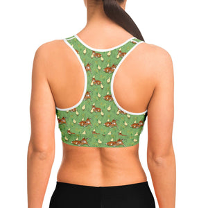 Deer And Chick  - Sports Bra - Fair Dinkum Fashion