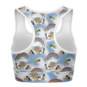 Rainbow Bridge  - Sports Bra - Fair Dinkum Fashion