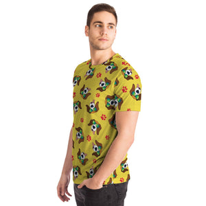 Cool Dogs Yellow T-shirt - Fair Dinkum Fashion