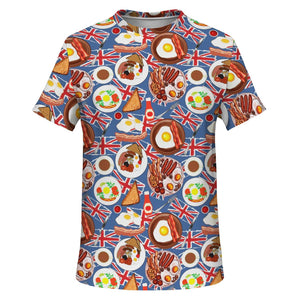 English Breakfast T-shirt - Fair Dinkum Fashion