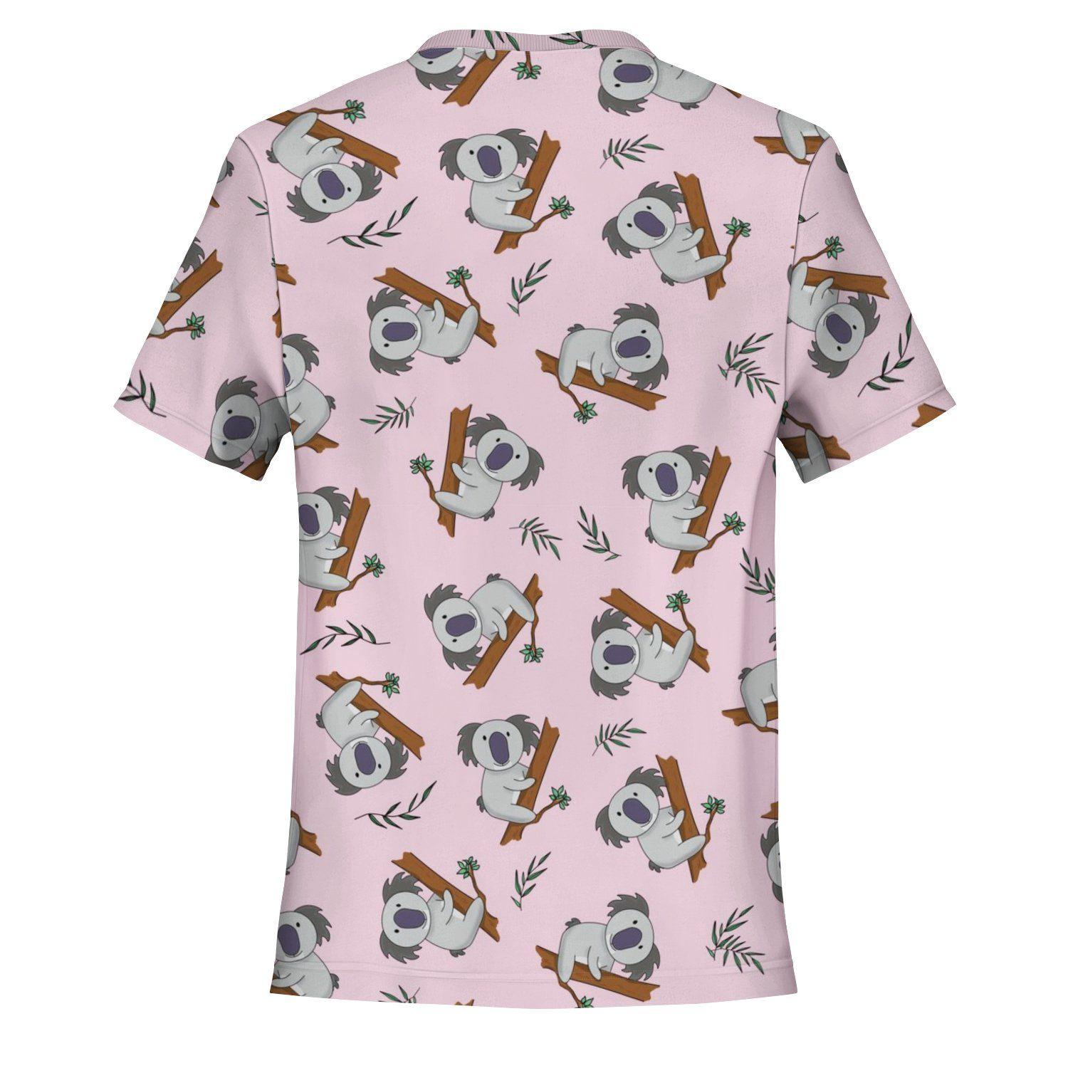 Koalas Pink T-shirt - Fair Dinkum Fashion