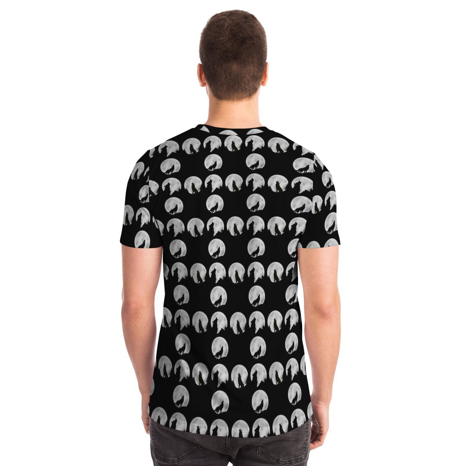 Wolf Sillhouette T-shirt - Fair Dinkum Fashion