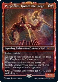 Purphoros, God of the Forge [Secret Lair Drop Series] | Baxters Game Store