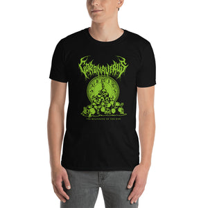 "Coronavirus ""The Beginning of the End"" Death Metal T-Shirt - Front Print Only"