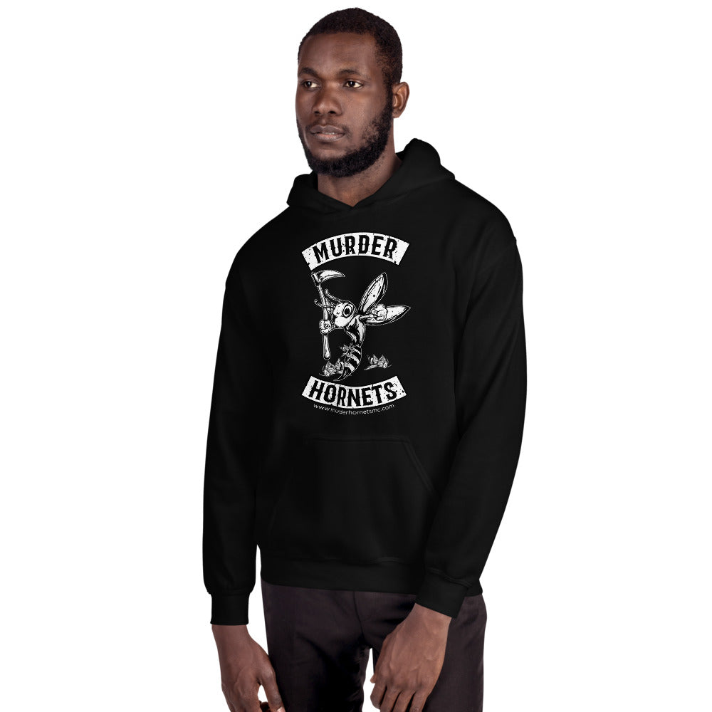 Murder Hornets MC Hoodie (Front Print Design Only)