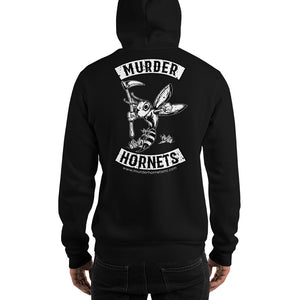 Murder Hornets MC Hoodie (SOA Style with Front and Back Prints)
