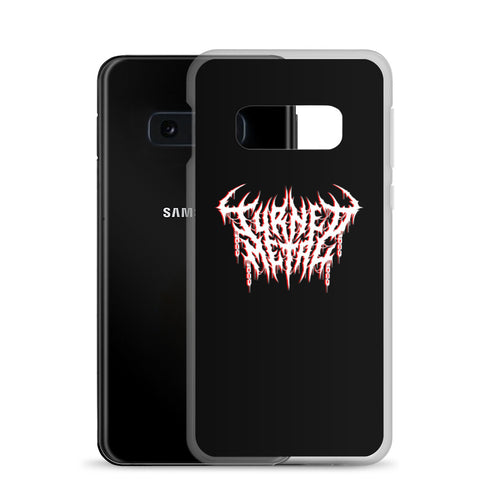 Samsung Case in Black with Your Handcrafted Custom Logo Printed