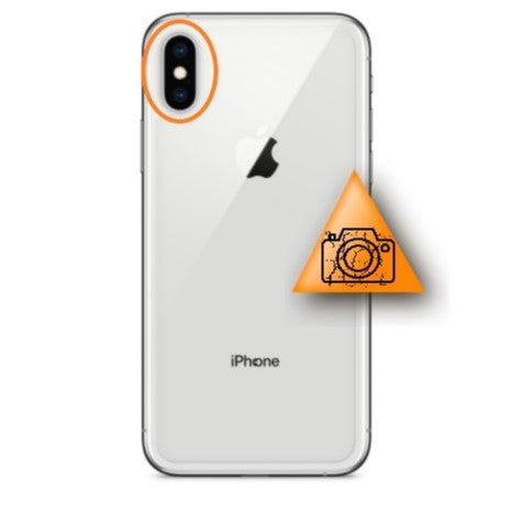 Bytte av kameralinse - Apple iPhone X