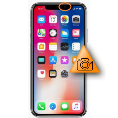 Bytte av frontkamera - Apple iPhone Xr