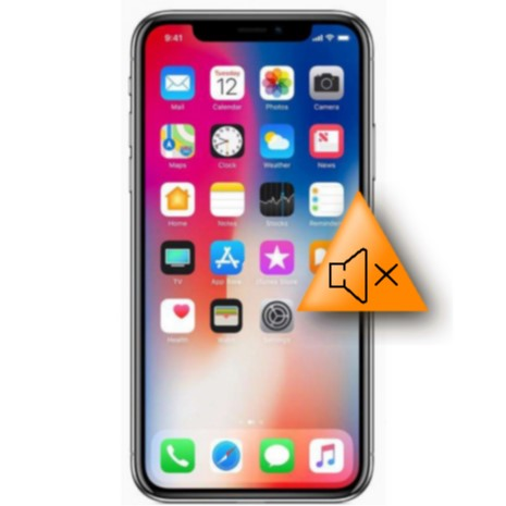 Bytte av hovedhøyttaler - Apple iPhone X