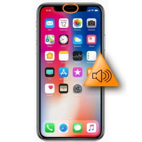 Bytte av ørehøyttaler - Apple iPhone Xs Max