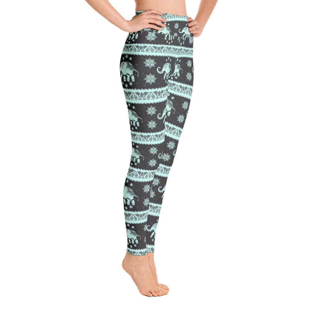 Thai Elephant Yoga Pant