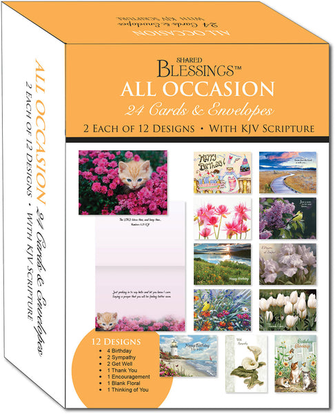 All Occasion Large Assort - Variety Assortment Cards, Box of 24