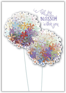 Rainbow Allium - Boxed Greeting Cards, Box of 15