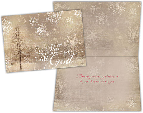 Be Still and Know - Boxed Christmas Cards