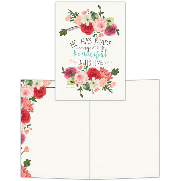 Beautiful in Its Time - Boxed Greeting Cards, Box of 15