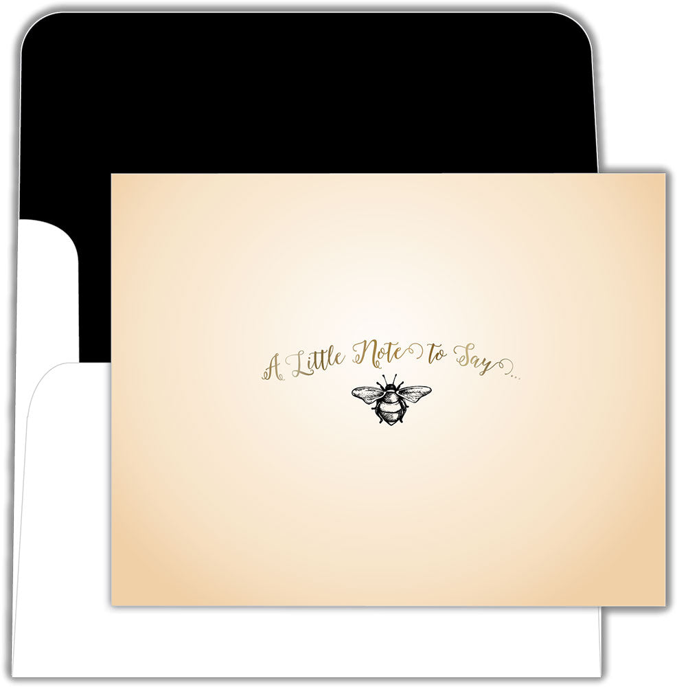 Bee Note - Boxed Greeting Cards, Box of 15