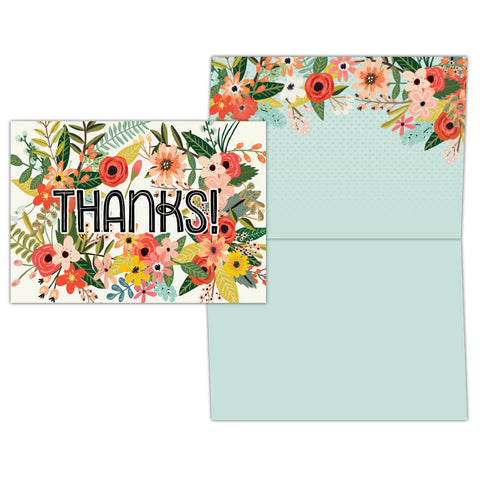 Bloom! Thank You - Boxed Thank You Cards, Box of 15