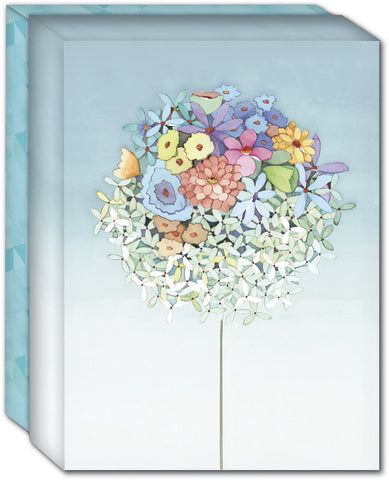 Bouquet of Mixed Flowers - Boxed Note Cards, Box of 15
