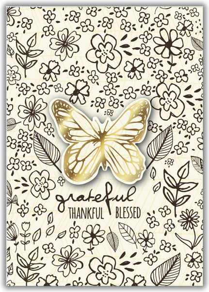 Where Flowers Bloom - Butterfly - Boxed Greeting Cards, Box of 15