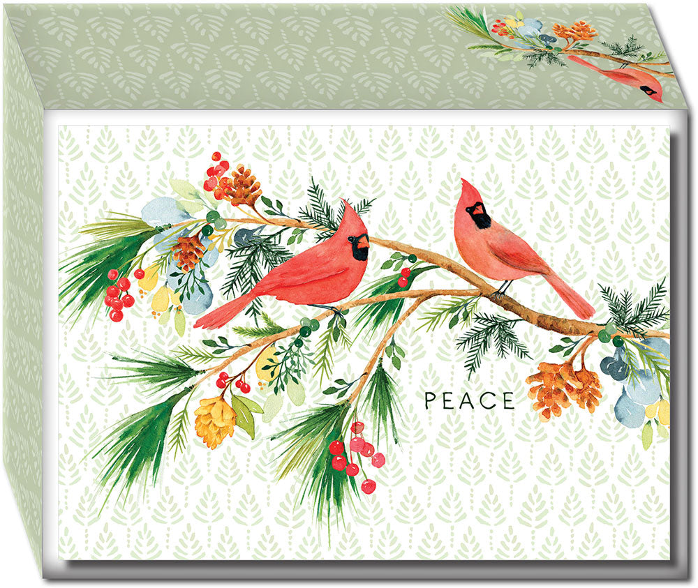 Cardinal Peace - Boxed Christmas Cards