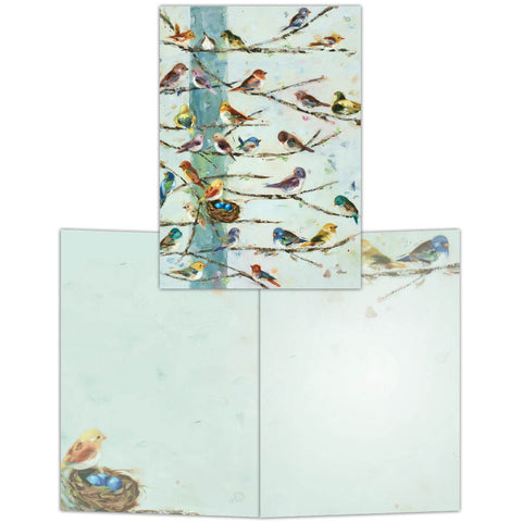 Community Birds - Boxed Note Cards, Box of 15