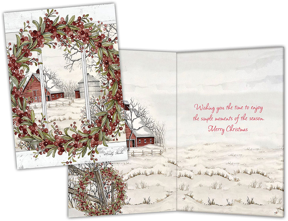 Country Christmas - Special Finish Boxed Christmas Cards