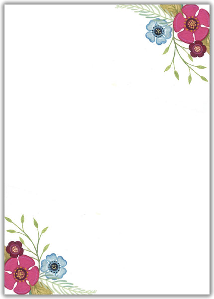 Floral Burst - Boxed Thank You Cards, Box of 15