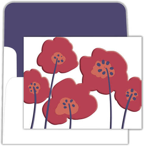 Flower Box Note - Boxed Note Cards, Box of 15