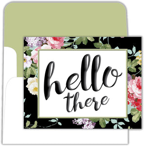 Hello There - Boxed Greeting Cards, Box of 15