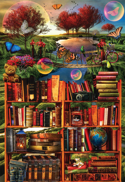 Imagination Through Reading - 1000 Piece Jigsaw Puzzle