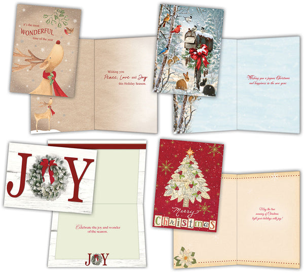 Jingle and Joy - Large Boxed Christmas Card Assortment